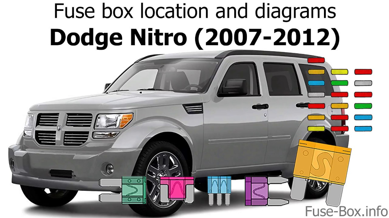 Fuse Box Location And Diagrams  Dodge Nitro  2007-2012