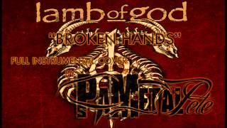 lamb of god broken hands full instrumental cover vocal backing track