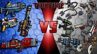 Pixel Gun 3D - Royal Weapons VS Exoskeleton Weapons