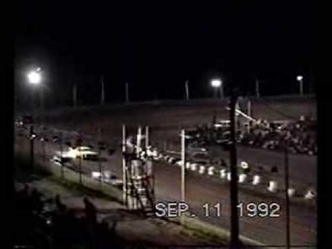 LAKE COUNTY SPEEDWAY MADISON S.D OUT LAW STREET STOCK 9-11-1992 .wmv