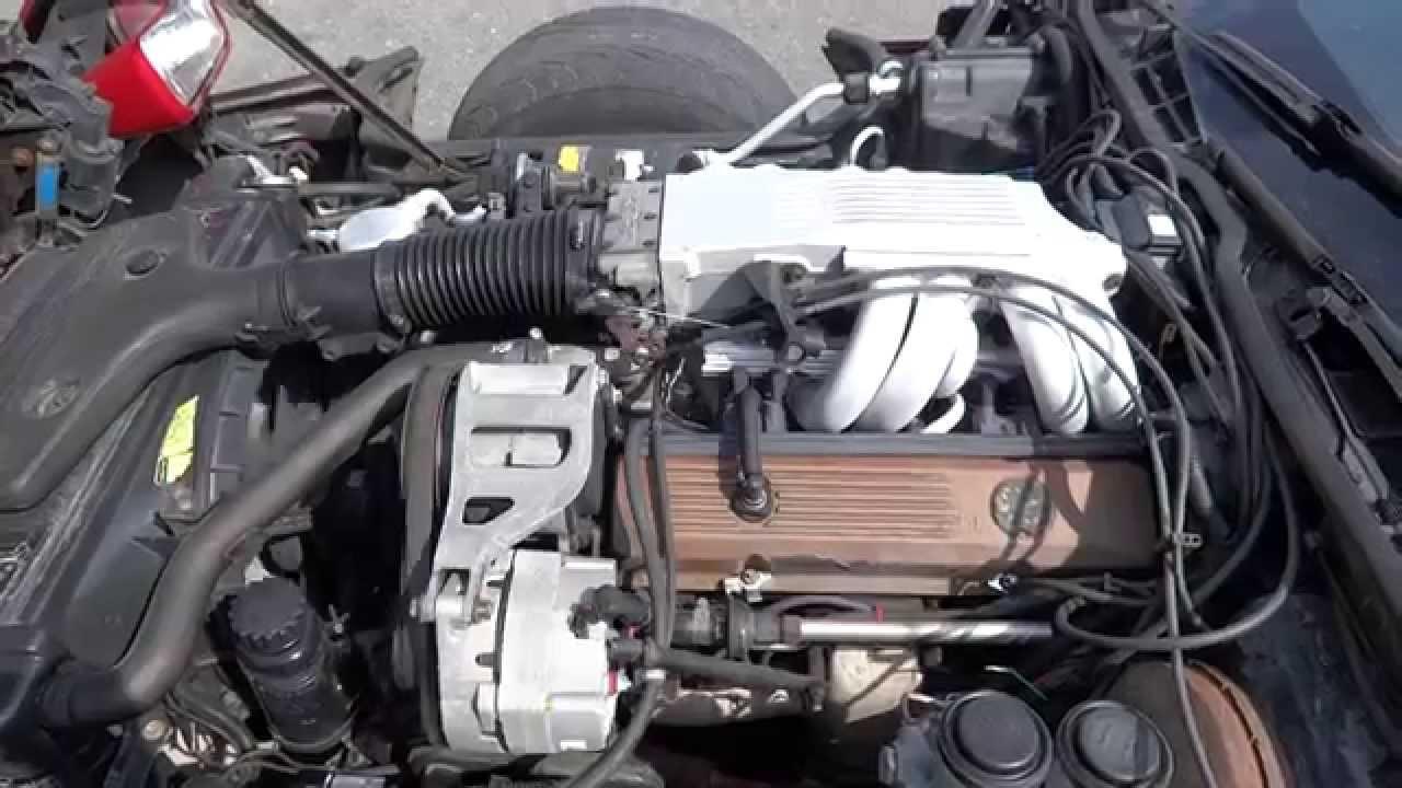 2014 Camaro Fuel Filter 1985 C4 Corvette L98 Engine For Sale Youtube