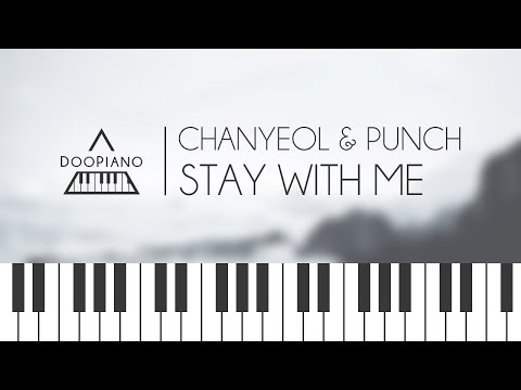 [Goblin OST] 찬열 (Chanyeol), 펀치 (Punch) - Stay With Me Piano Cover