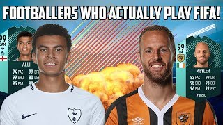 5 Footballers Who Play FIFA!