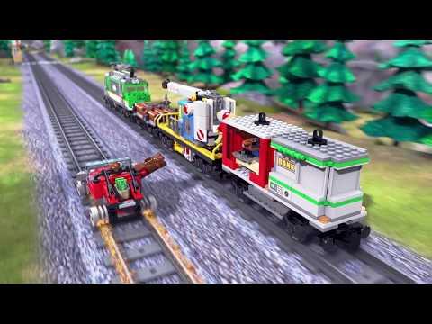 LEGO City - Gold Train Gambit – Train Toys | Mini Movie