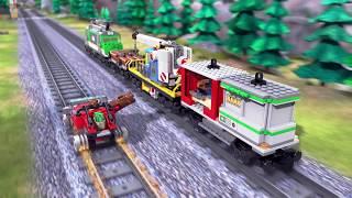 LEGO City - Gold Train Gambit – Train Toys   Mini Movie