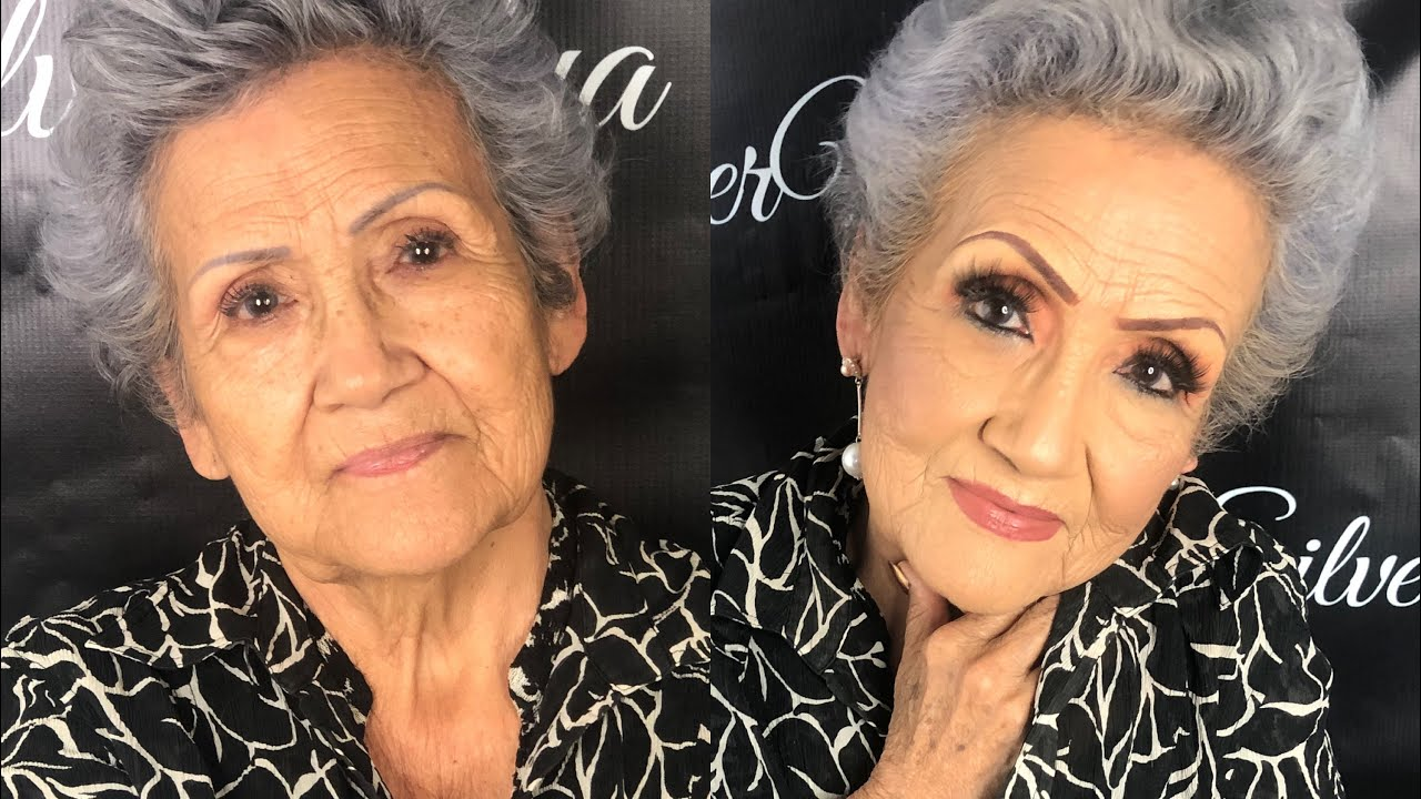 Abuelas Maduras maquillaje para abuelas - piel madura -