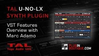 U-NO-LX Plugin VST Soft Synth - Overview