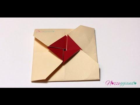 Partecipazioni Matrimonio Kirigami.Busta Origami Quadrata Partecipazioni Tutorial Nozzeggiando Youtube