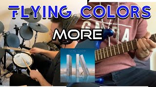 Baixar Flying Colors 'More' - Drums and Guitar cover