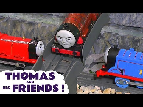Thomas and Friends Toy Train Fun Stories for kids and children with Trackmaster Trains TT4U