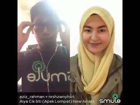 [P Ramlee]  Aiya Cik Siti (Apek Lompat) SMULE By Aziz Rahman & Wani LAWAK GILA !!