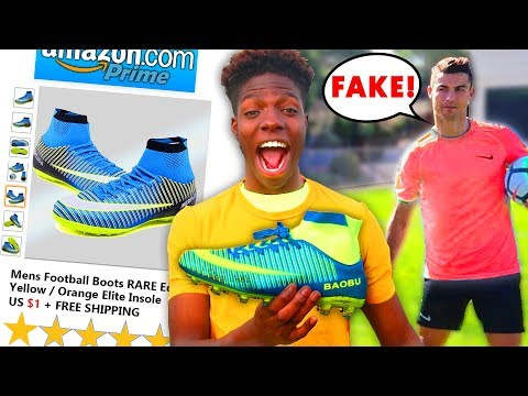 I Bought the FAKEST Reviewed Football Boots on Amazon & Played Like Ronaldo
