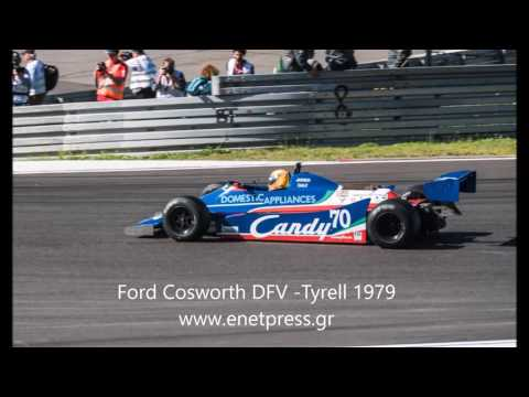 Ford Cosworth DFV from a Tyrell Formula 1 1979
