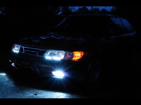 Saab 9 3 led light bar hd youtube saab 9 3 led light bar hd mozeypictures Choice Image