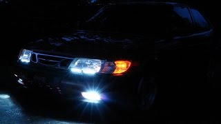 SAAB 9-3 LED LIGHT BAR (HD)