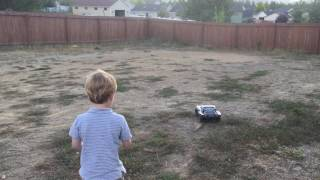 Traxxas Slash 2wd VXL Brushless 5 year old driver 2s Lipo