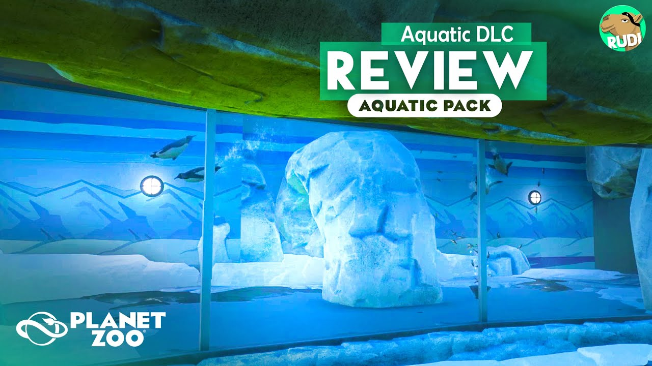 Planet Zoo Aquatic Pack Detailed Review