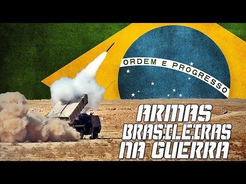 Armas Brasileiras usadas em Guerra