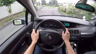 Renault Vel Satis 2.0T (2003) - POV Drive
