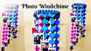 How to make Windchime out of paper | Paper Craft | Photo Windchime | Handmade Windchime Tutorial