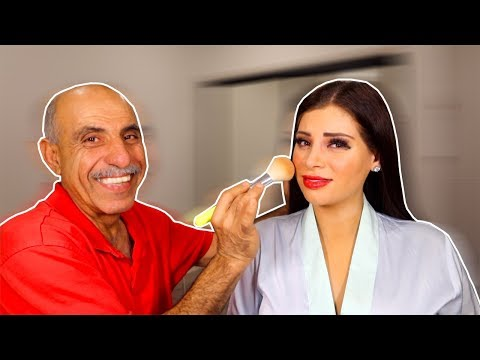 My Foreign Dad Does My Makeup *send help* thumbnail