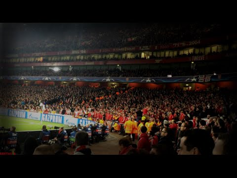 Arsenal vs Olympiakos 2-3  Fans inside Emirates Stadium  Άρσεναλ-Ολυμπιακός UCL 2015/16 [29.09.2015]