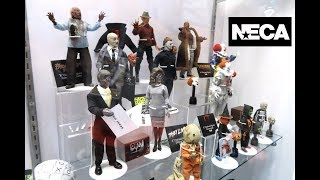 SDCC 2019 NECA BOOTH tour - Trick R Treat SAM, Annabelle, IT, Halloween 3, They Live, Candyman, TMNT