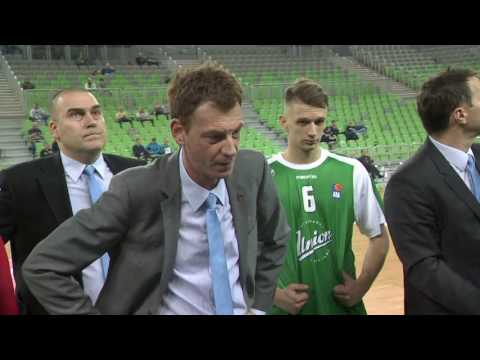 ABA Liga 2016/17, Round 20 match: Union Olimpija - Karpoš So