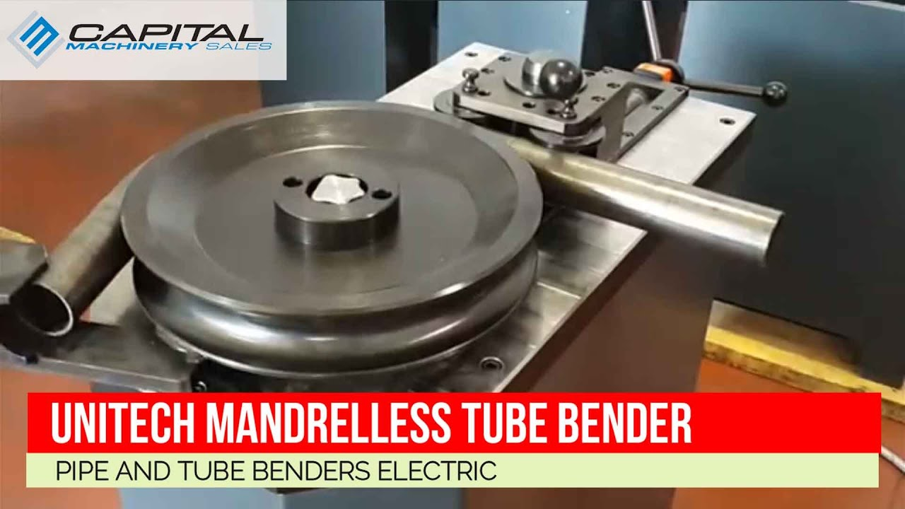 Unitech Mandrelless Tube Bender