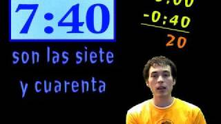 Learn Spanish - ¿Qué hora es? (telling time) part 2