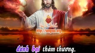 Chúa Là Chỗ Dung Thân (CN6B) - karaoke playback - http://songvui.org