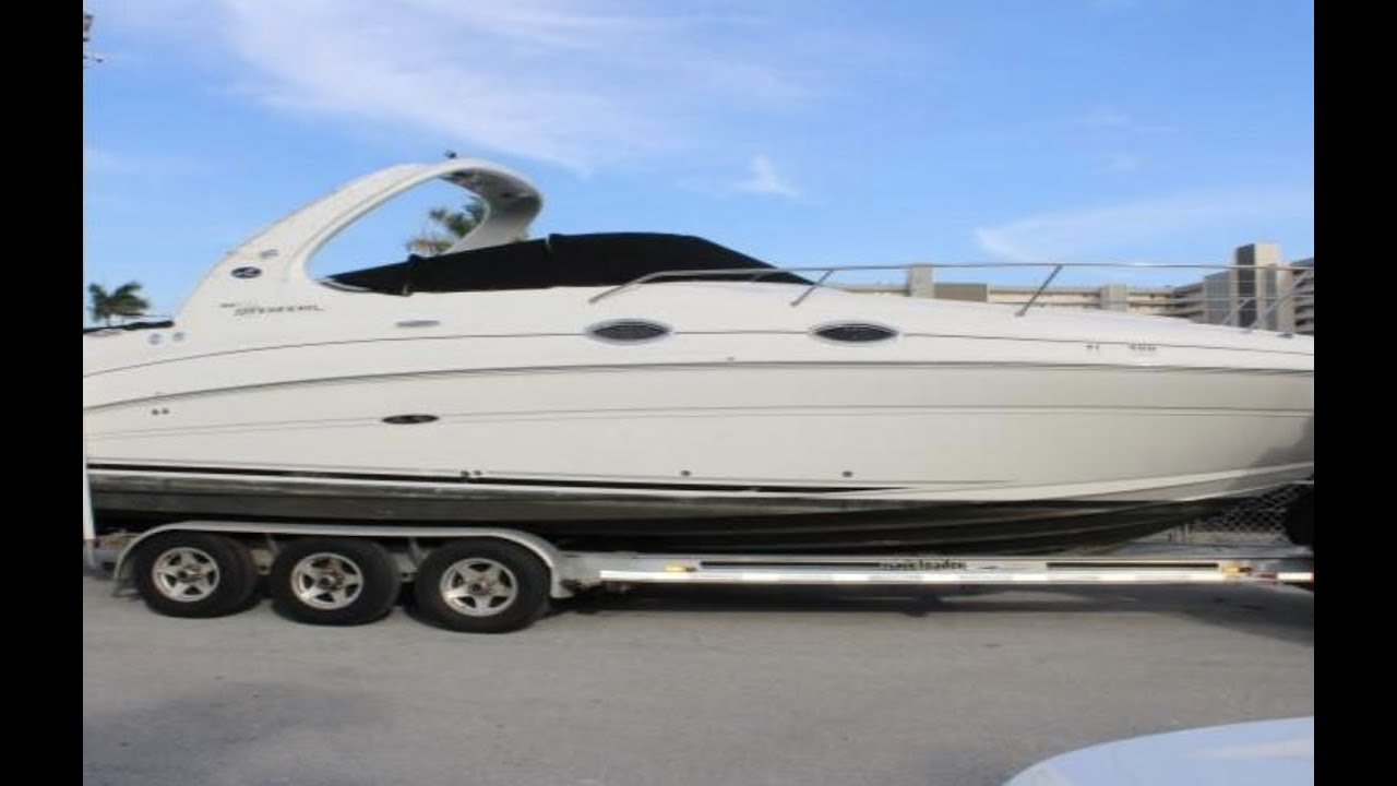 2007 Sea Ray 280 Sundancer Boat For Sale At Marinemax Pompano Florida