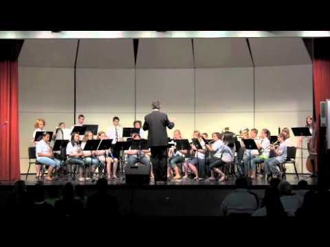 The Winlock Middle School Band performs at the Spring Pops Concert, May 21, 2012