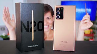EL UNBOXING MÁS RAYADO!!!!!!! Samsung Note 20 Ultra