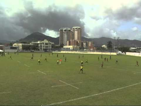 Jamaica vs Cayman Islands - NACRA U19 2013 | Part (1/2)