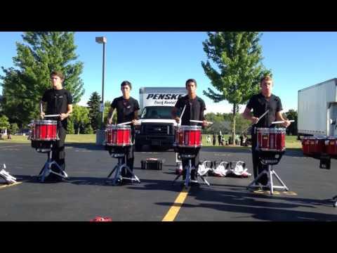 Calgary Stampede Showband Drumline - Paradiddles 2016