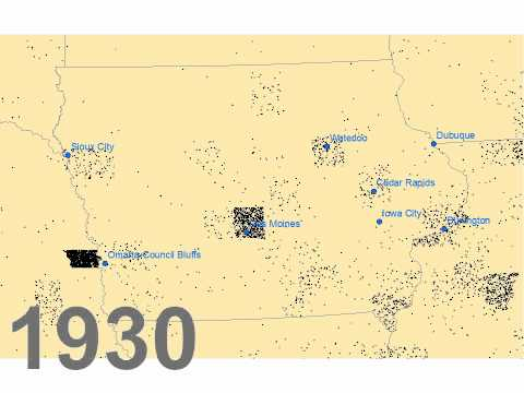 African-Americans in Iowa, 1850-1990