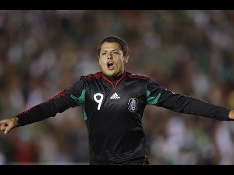 2010/03/03 México vs Nueva Zelanda 2:1 - Gol (03) Chicharito14.mx