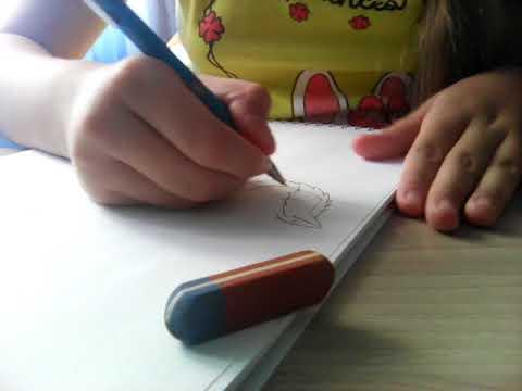 Как нарисовать крапиву для детей