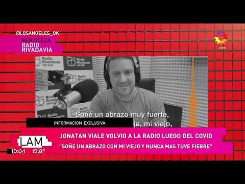 Jonatan Viale y su emotivo sueño