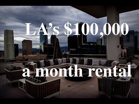 Tour L.A.'s priciest new penthouse — yours for $100,000 a month