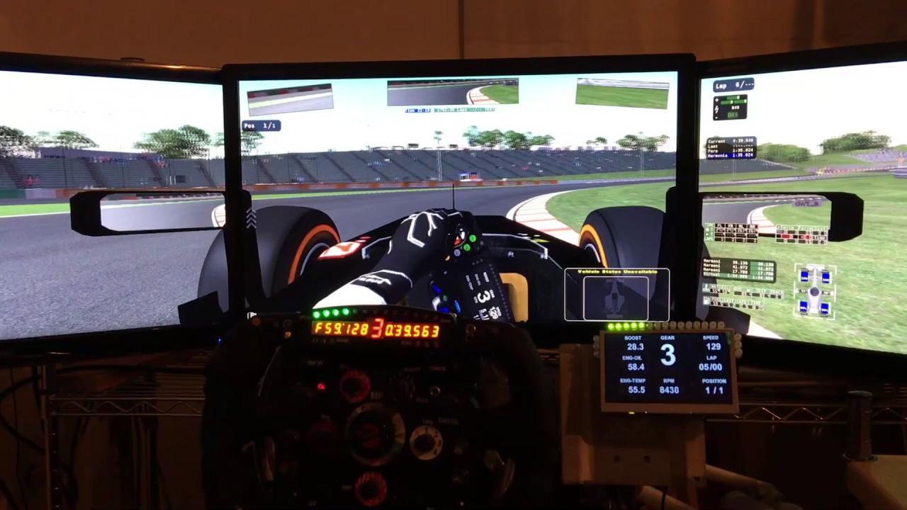 rfactor2 SIM Race LCD Controller