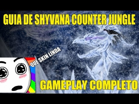 Shyvana Counter Jungle - Gameplay Completo (S2)