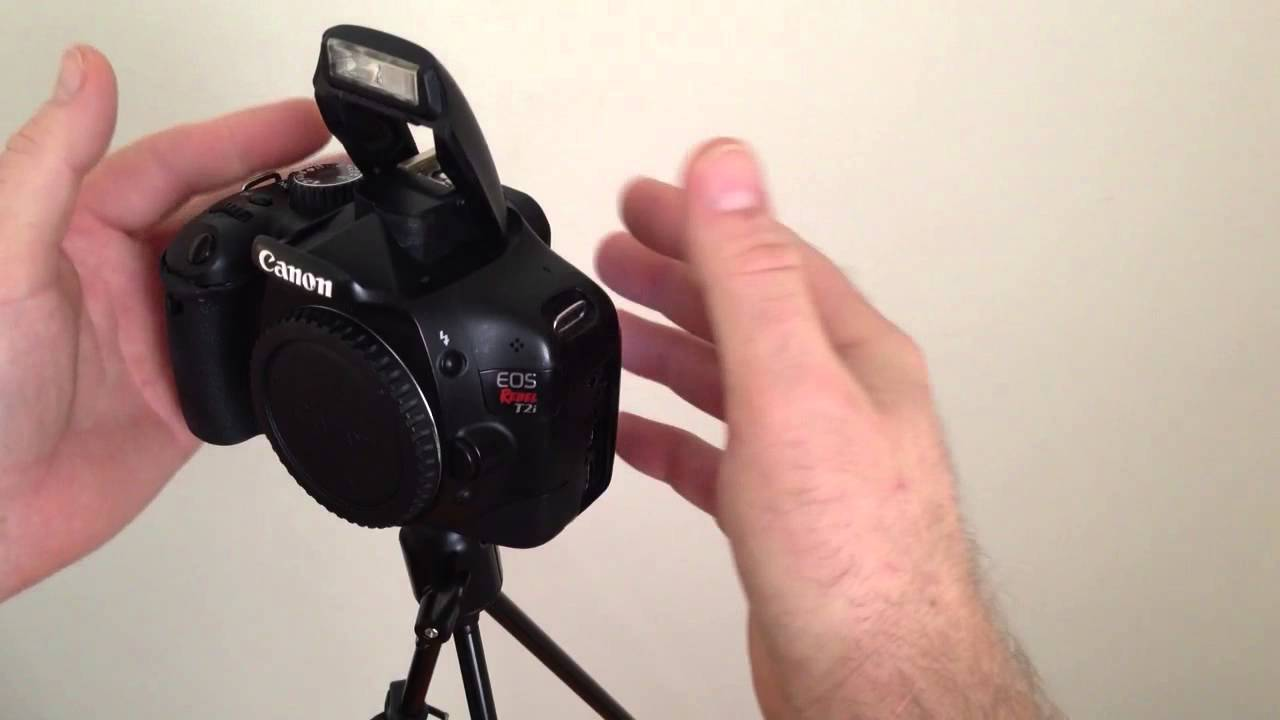 Original Canon DSLR 350D 400D Top Cover Pop-Up Flash Spring Replacement Part