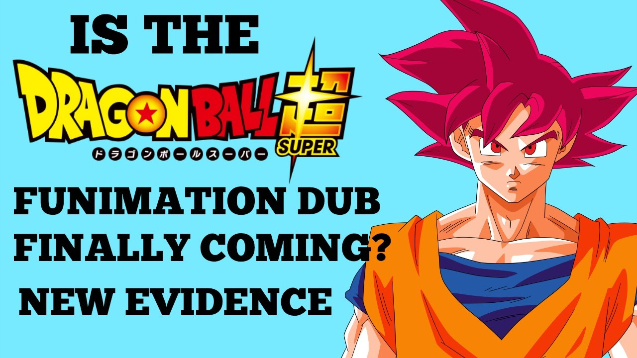 dragon ball super english dub from funimation licensed new