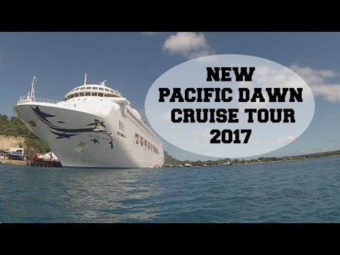 P&O PACIFIC DAWN 2017 NEW || CRUISE TOUR