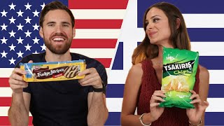 Americans and Greeks Swap Snacks