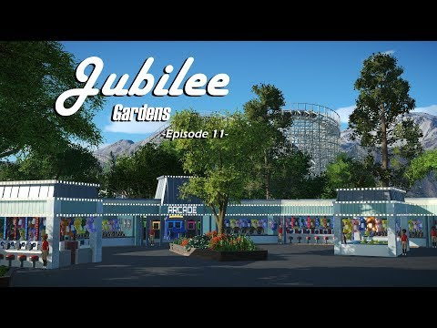 Planet Coaster: Jubilee Gardens [Ep. 11] - Midway Games, Himalaya and Custom Spawn Points