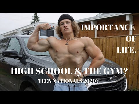 High School & The Gym? | Teen Nationals 2020? | Squats & Bench Day from YouTube · Duration:  13 minutes 56 seconds
