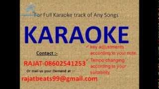 Jane Kaise Kab Kahan Ekaar Karaoke Track
